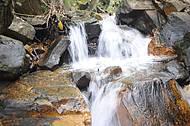 Cachoeirinha na trilha do canyon