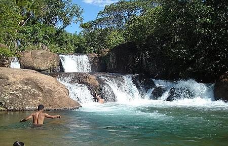 Parque Estadual da Terra Ronca - Cachoeira da Palmeira, faz parte do paraíso