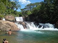 Cachoeira da Palmeira, faz parte do paraíso