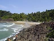 R�stica, vila atrai surfistas e amantes da natureza