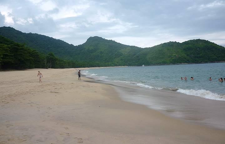 Fim de tarde na Praia do Bonete Grande mais conhecida como Bonetão