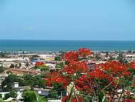 vista panorâmica de Porto Seguro a partir de hotel próximo ao aeroporto
