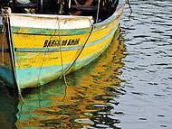 Barco do Amor, de pescadores em Balneário Camboriú, SC