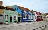 Lojas de artesanatos coloridas