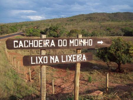 Chachoeira Moinho - Entrada para Chachoeira