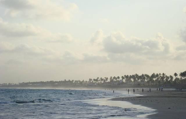Fim de Tarde na Praia do Cupe