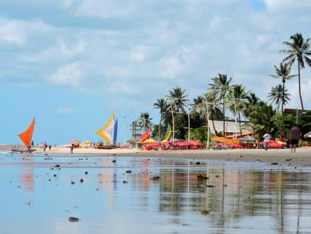 Vista da praia de Cumbuco - linda !