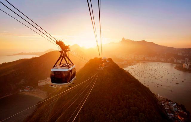 Bondinho do Pão de Açúcar está entre os passeios mais lindos do Rio