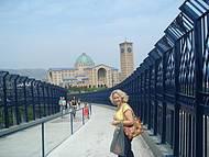 A passarela, cidade - Basílica
