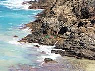 Buraco do Galego - Lado direito na Praia do Cachorro