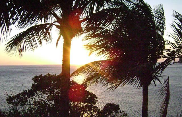 Pôr do sol: Perfeito!!
