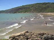 Águas Mansas da Praia da Cerca