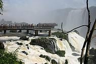 Visão da plataforma do lado Brasileiro.