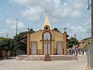 ... a caminho das falésias, belíssima Igreja em Morro Branco !