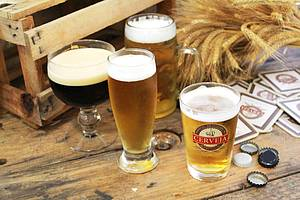 Cerveja artesanal: Claras ou escuras... é só escolher!<br>