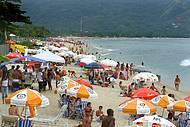 Praia de Maresias est� entre as mais badaladas do litoral Norte de S�o Paulo