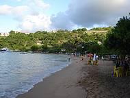 Fim de tarde na Praia de Ganchos