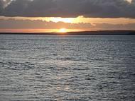 Pôr do sol espetacular
