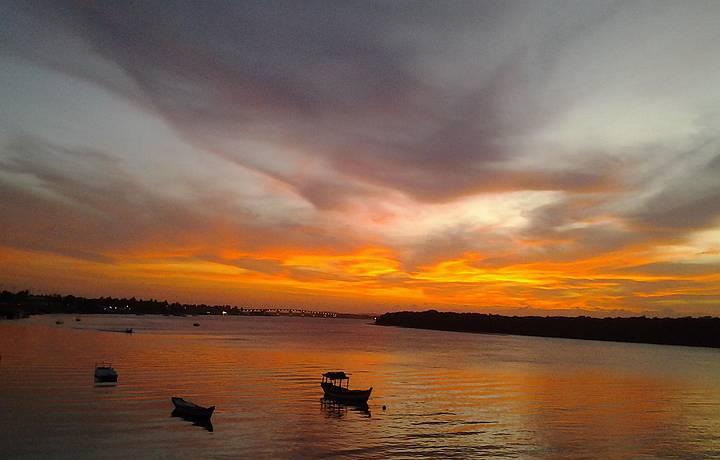 Orla Pôr do Sol