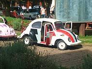 Mini carro de polícia para crianças