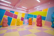 Muitas cores na Sala dos Ursinhos