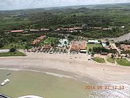 Vista aérea do Resort - Voo de Ultra leve