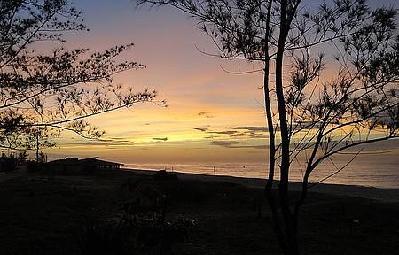 Praia do Francês - Lindo nascer do sol
