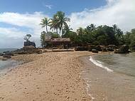 Entrada da Ilha da Pedra Furada
