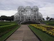 O belíssimo Jardim Botânico.