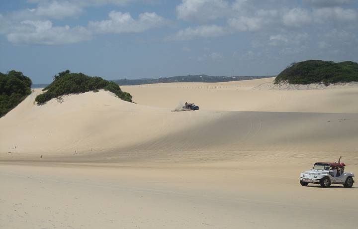 Buggy`s brincando nas dunas