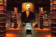 No museu, a história do espumante no Brasil