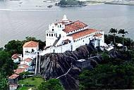 Vista aérea do convento