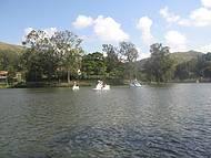 Paisagem incrível do Lago Javary