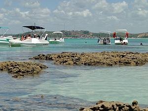 Curtir as piscinas de Taocas, Barra Grande e Barreira de Peroba