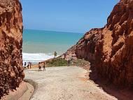 Praia de Jacarecica e Fal�sias