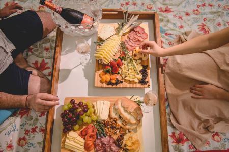 Muitas delícias nas vinícolas da região, como a Cristofoli