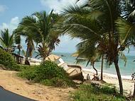 Praia pouco movimentada, mas, maravilhosa!