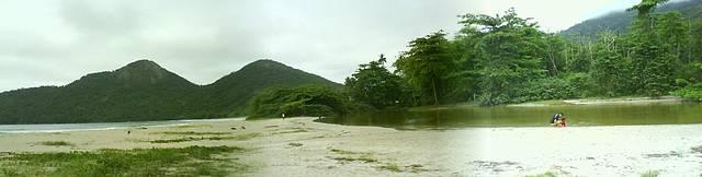 Praia Dois Rios - Panor�mica