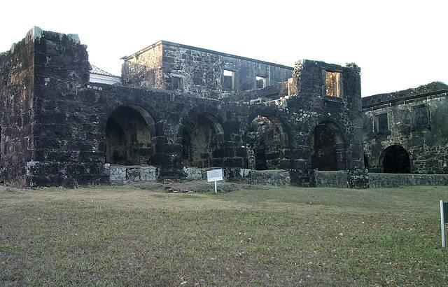 �nico castelo feudal das Am�ricas