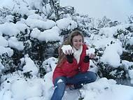 Muita neve no inverno!!!