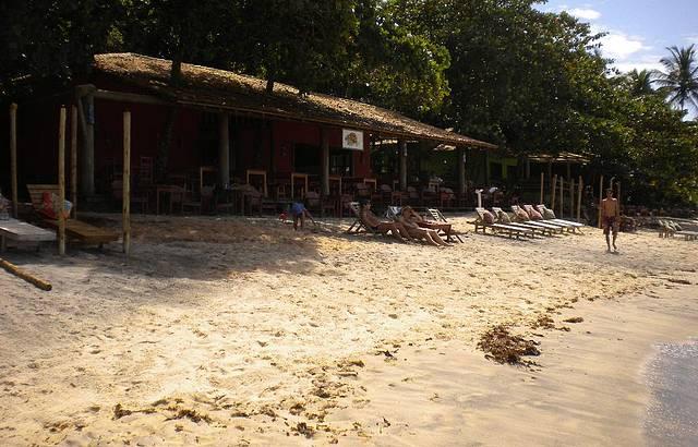 Barraca na Praia do Espelho