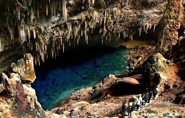 Lago Azul - Toda a beleza das grutas de Bonito
