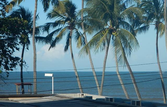 Vista do hotel sesc cabo branco