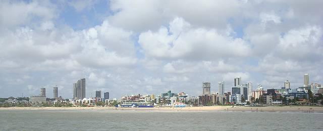 Praia de Cabo  Branco vista do Mar