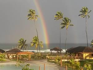 Arco Iris na Praia