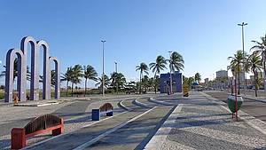 Praia de Atalaia: Orla perfeita para curtir e passear <br>