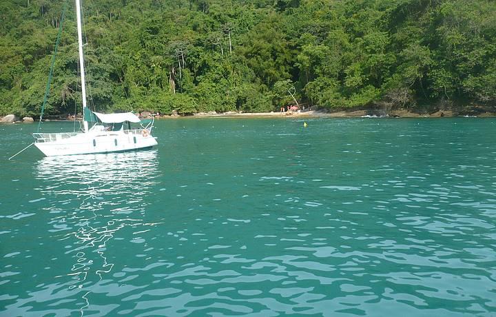 Cor da água é incrível!