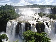 Vista das Cataratas do Lado Brasileiro