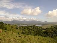 Vista da estrada que liga Gamboa ao centro de Garopaba