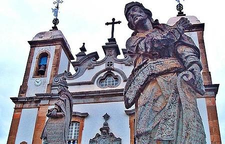 Santuário de Bom Jesus de Matosinhos - Um dos Profetas de Aleijadinho
